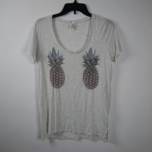 VICTORIA's SECRET PINK Super Soft Pineapple Tee